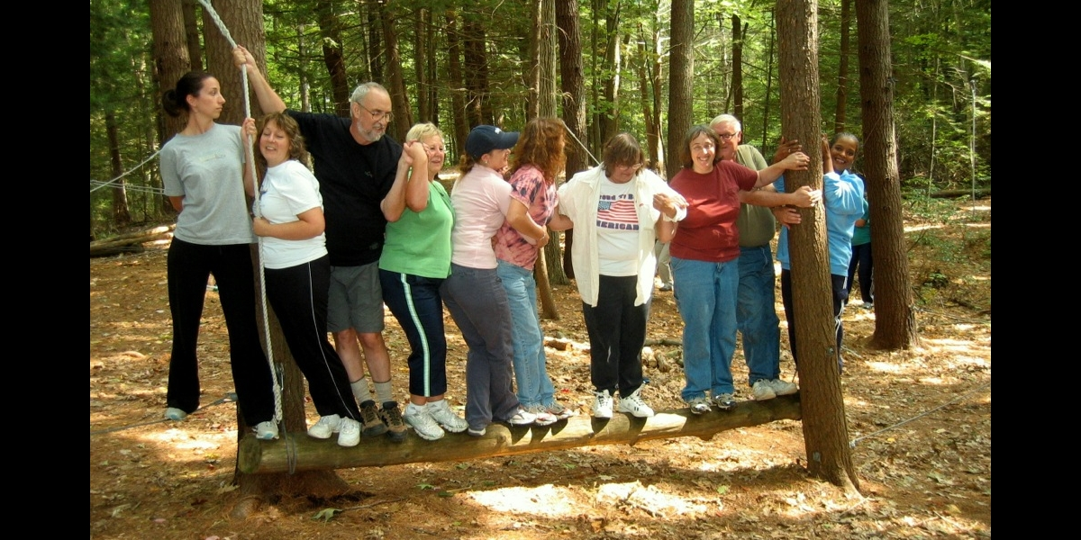 wilderness adult team building camps
